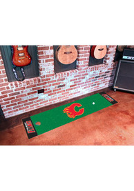 Calgary Flames 18x72 Putting Green Runner Interior Rug