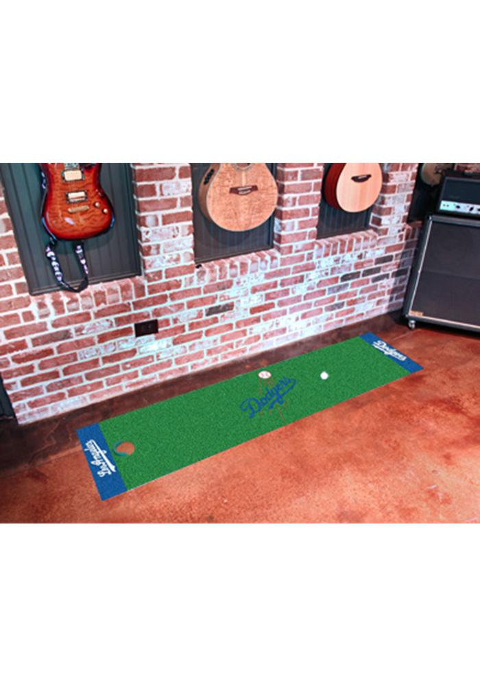 Los Angeles Dodgers 18x72 Putting Green Runner Interior Rug - Image 1