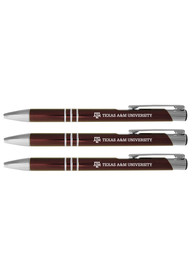 Texas A&M Aggies 3 Pack Ball Point Pen