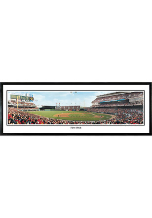 Cincinnati Reds First Pitch Framed Posters