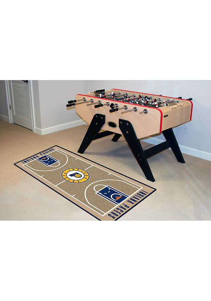 Indiana Pacers 24x44 Court Runner Interior Rug - Image 2