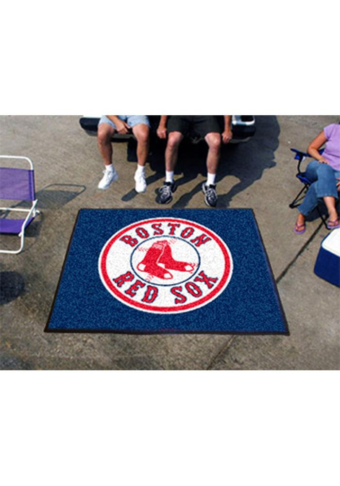 Boston Red Sox 60x72 Tailgater BBQ Grill Mat - Image 2