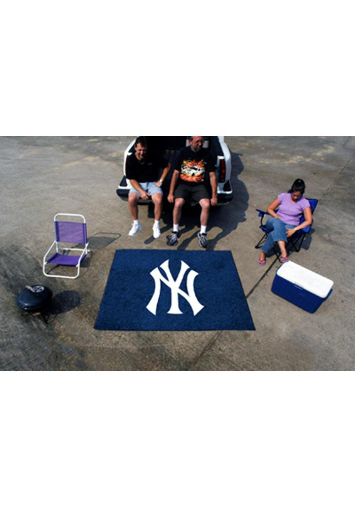 New York Yankees 60x72 Tailgater BBQ Grill Mat - Image 1
