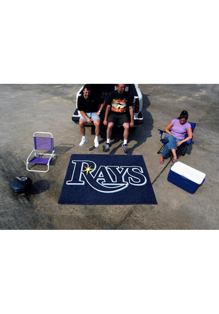 Tampa Bay Rays 60x72 Tailgater BBQ Grill Mat - Image 1