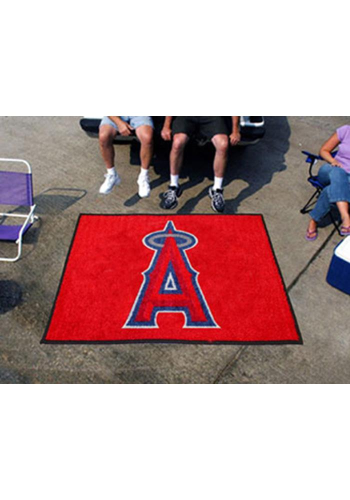 Los Angeles Angels 60x72 Tailgater BBQ Grill Mat - Image 1