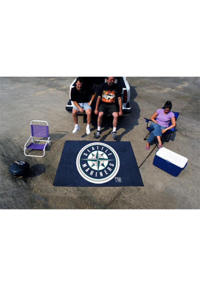 Seattle Mariners 60x72 Tailgater BBQ Grill Mat - Image 2