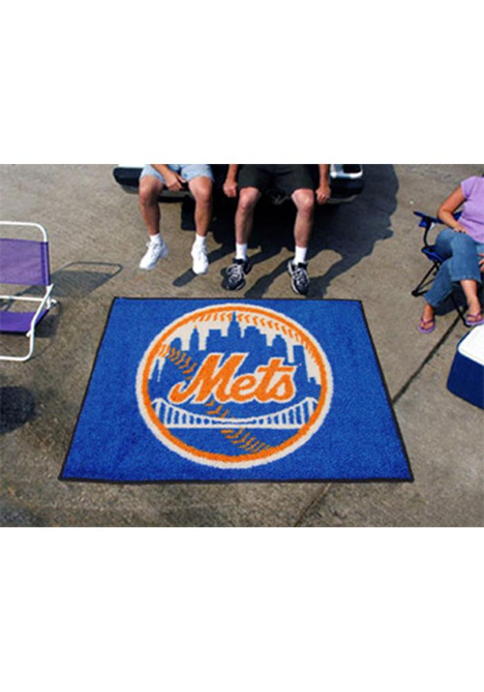 New York Mets 60x72 Tailgater BBQ Grill Mat - Image 2