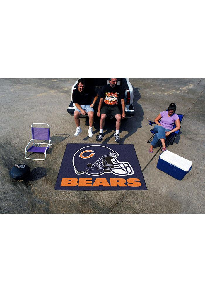 Chicago Bears 60x70 Tailgater BBQ Grill Mat - Image 2