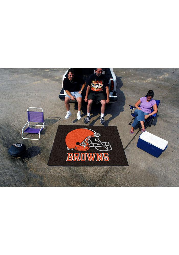 Cleveland Browns 60x70 Tailgater BBQ Grill Mat - Image 1