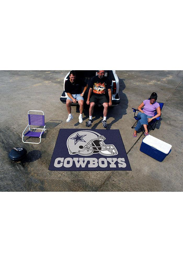 Dallas Cowboys 60x70 Tailgater BBQ Grill Mat - Image 2