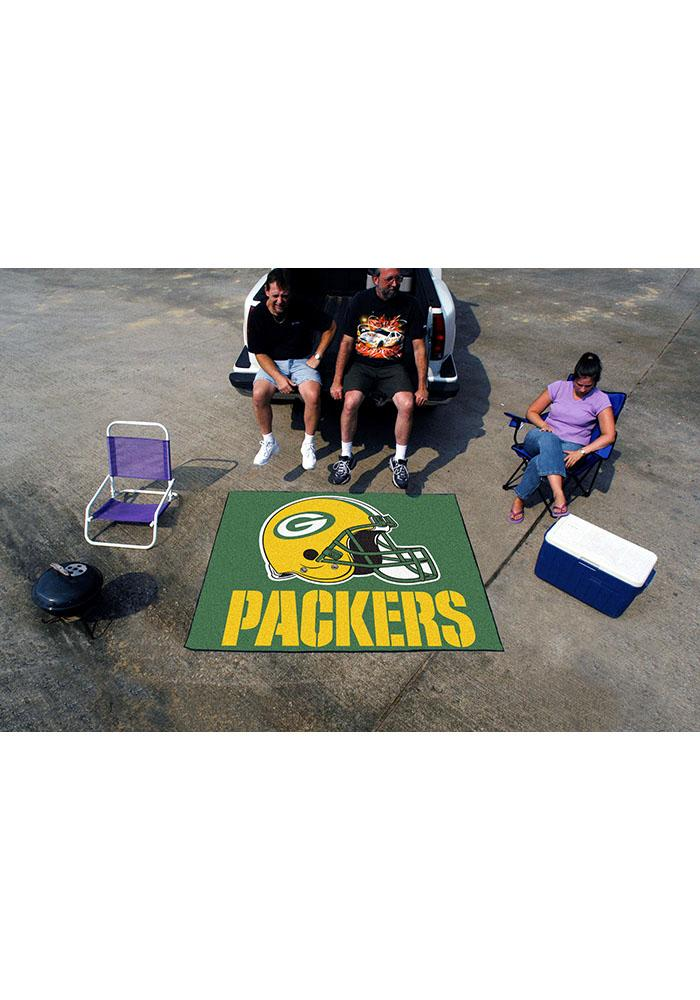 Green Bay Packers 60x70 Tailgater BBQ Grill Mat - Image 1