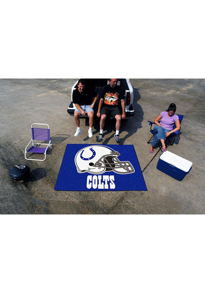 Indianapolis Colts 60x70 Tailgater BBQ Grill Mat - Image 2