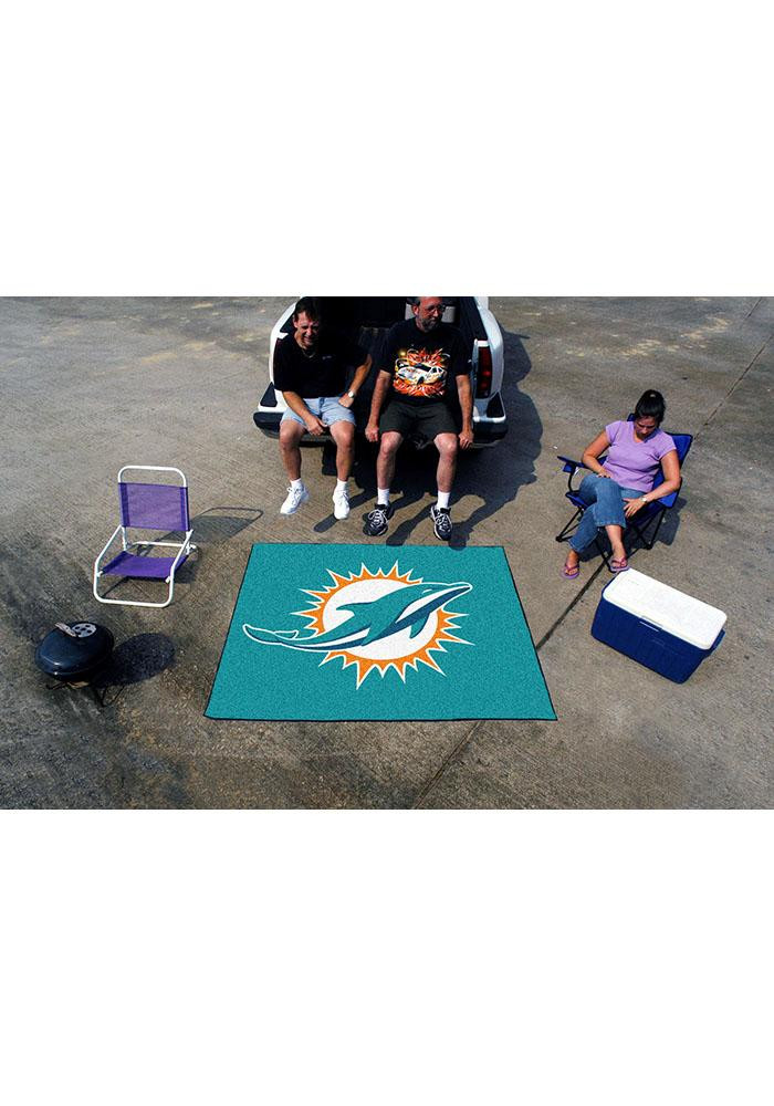 Miami Dolphins 60x70 Tailgater BBQ Grill Mat - Image 2