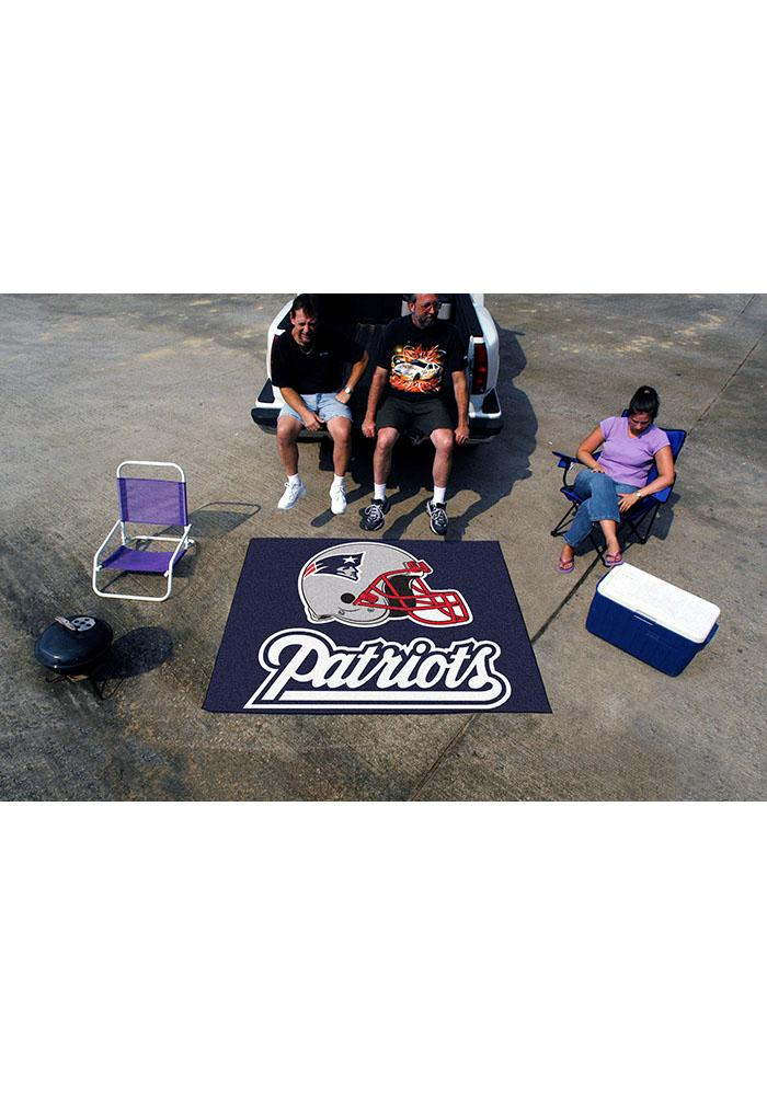 New England Patriots 60x70 Tailgater BBQ Grill Mat - Image 2
