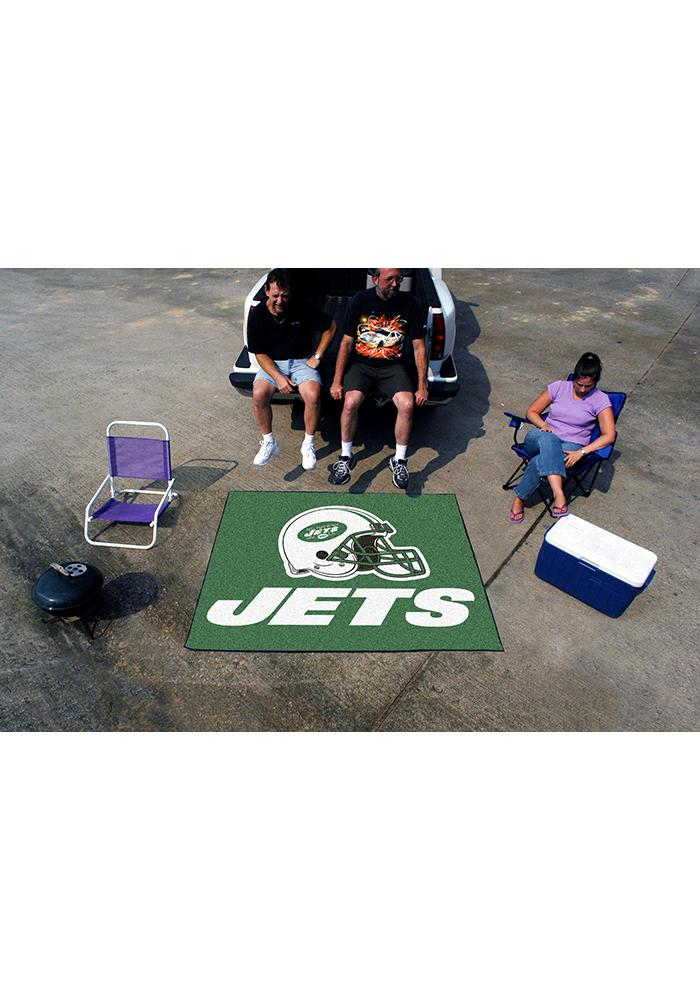 New York Jets 60x70 Tailgater BBQ Grill Mat - Image 1