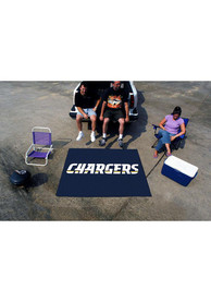 Los Angeles Chargers 60x70 Tailgater BBQ Grill Mat