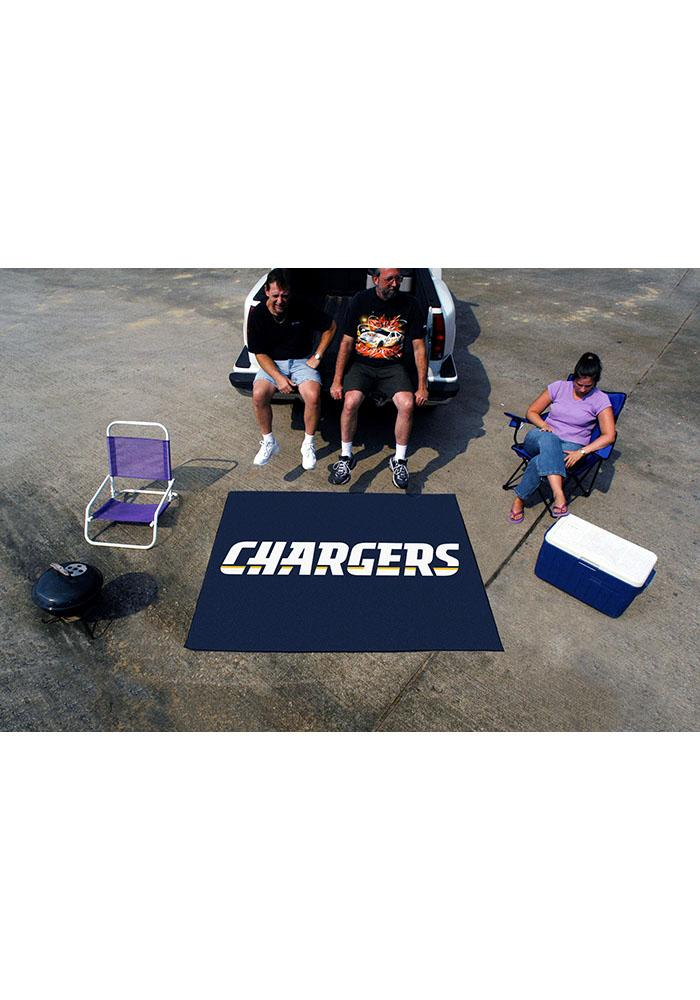 Los Angeles Chargers 60x70 Tailgater BBQ Grill Mat - Image 2