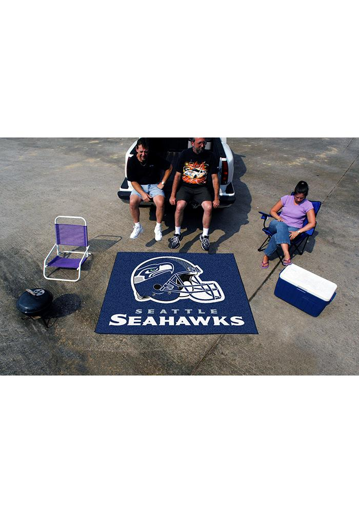 Seattle Seahawks 60x70 Tailgater BBQ Grill Mat - Image 2