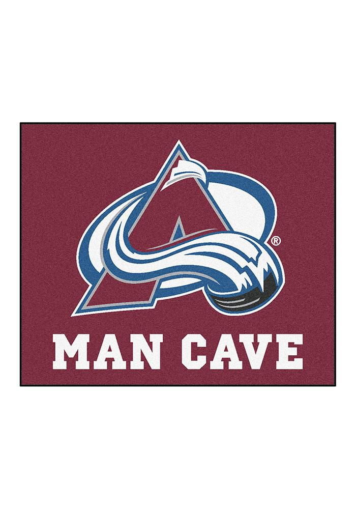 Colorado Avalanche 60x70 Tailgater BBQ Grill Mat - Image 1