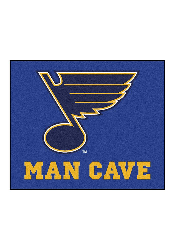 St. Louis Blues 60x70 Tailgater BBQ Grill Mat - Image 2