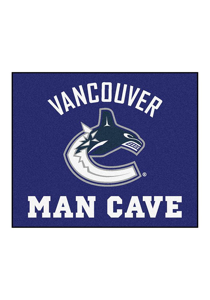 Vancouver Canucks 60x70 Tailgater BBQ Grill Mat - Image 2