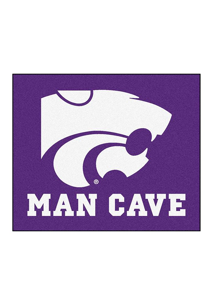 K-State Wildcats 60x70 Tailgater BBQ Grill Mat - Image 2