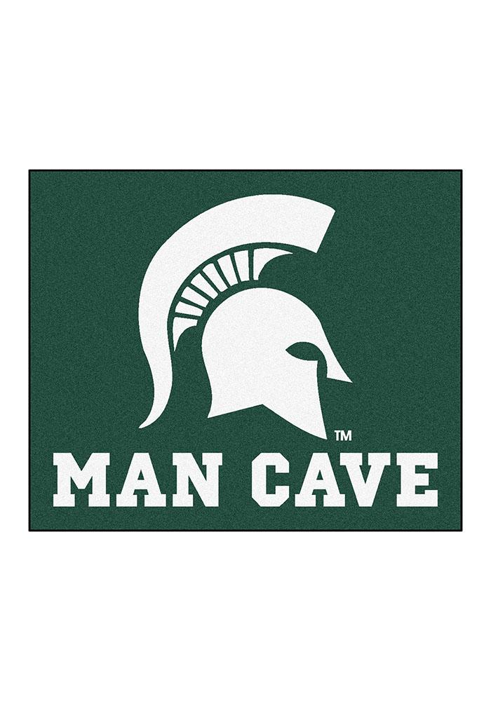 Michigan State Spartans 60x70 Tailgater BBQ Grill Mat - Image 1