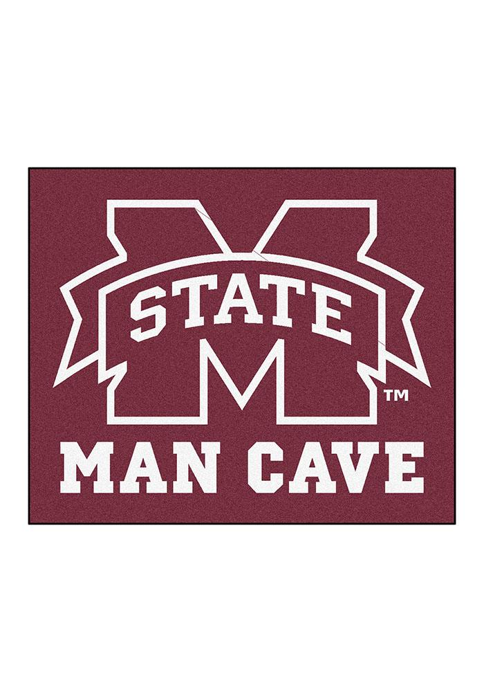 Mississippi State Bulldogs 60x70 Tailgater BBQ Grill Mat - Image 2