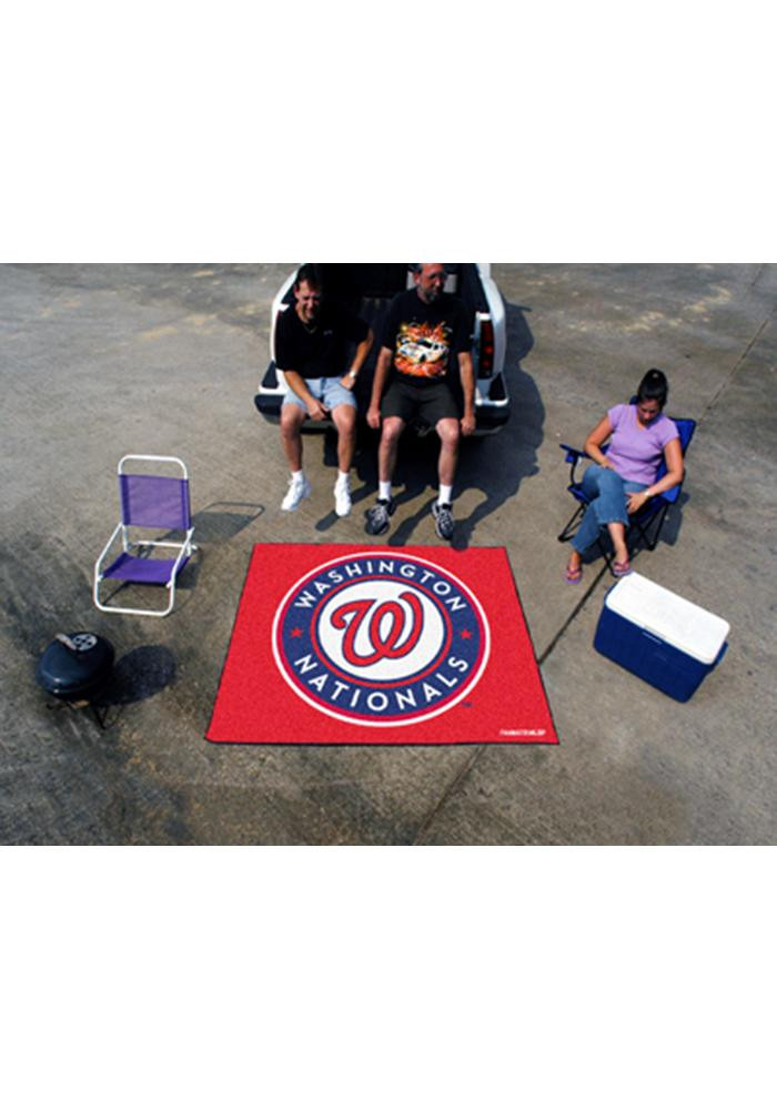 Washington Nationals 60x72 Tailgater BBQ Grill Mat - Image 2