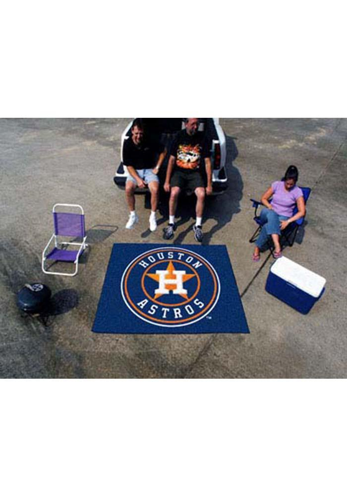 Houston Astros 60x72 Tailgater BBQ Grill Mat - Image 2