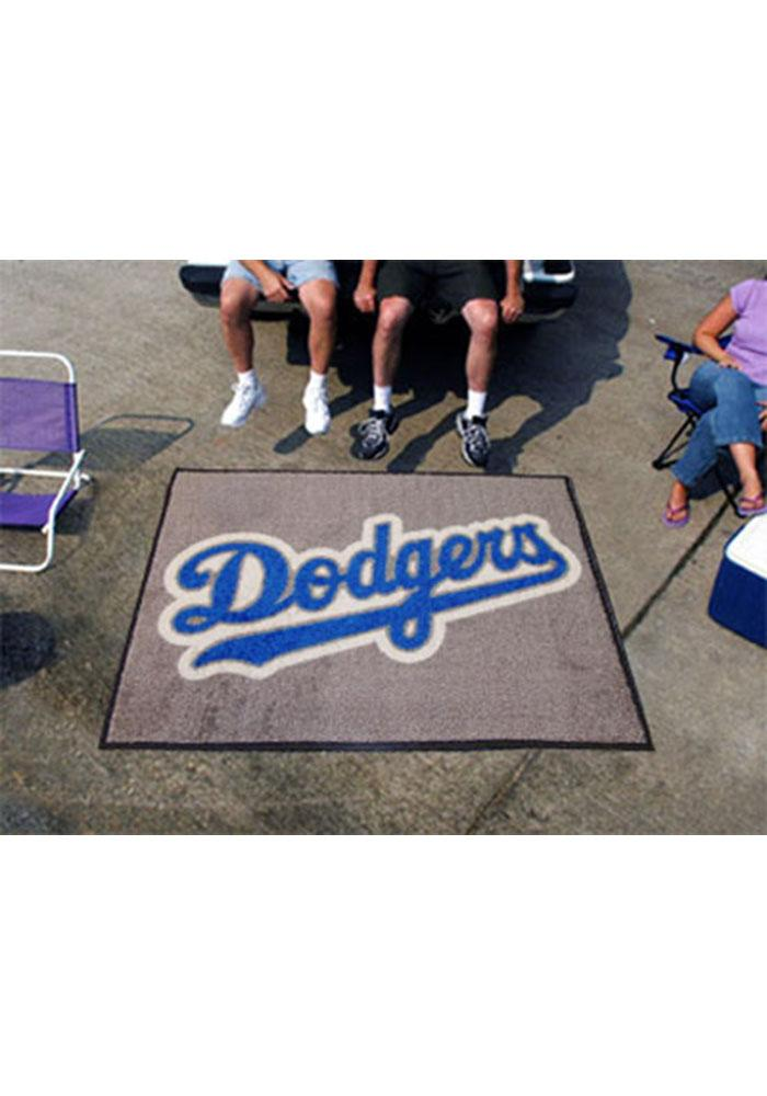 Los Angeles Dodgers 60x72 Tailgater BBQ Grill Mat - Image 1