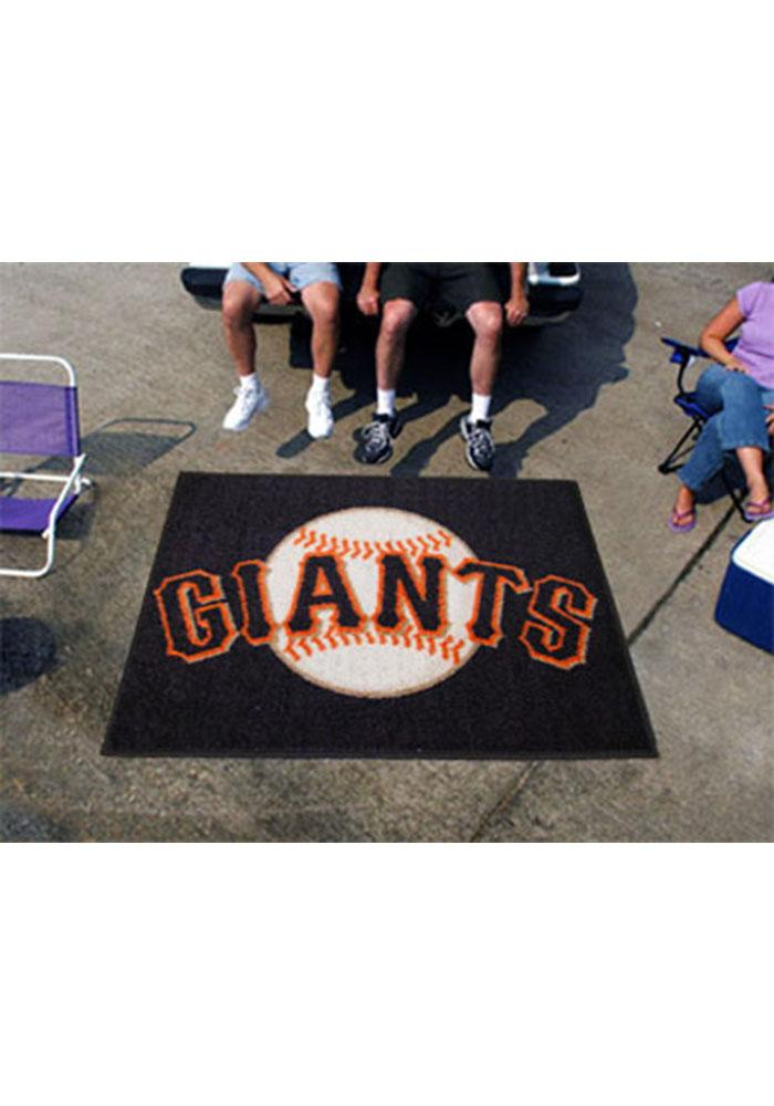 San Francisco Giants 60x72 Tailgater BBQ Grill Mat - Image 2
