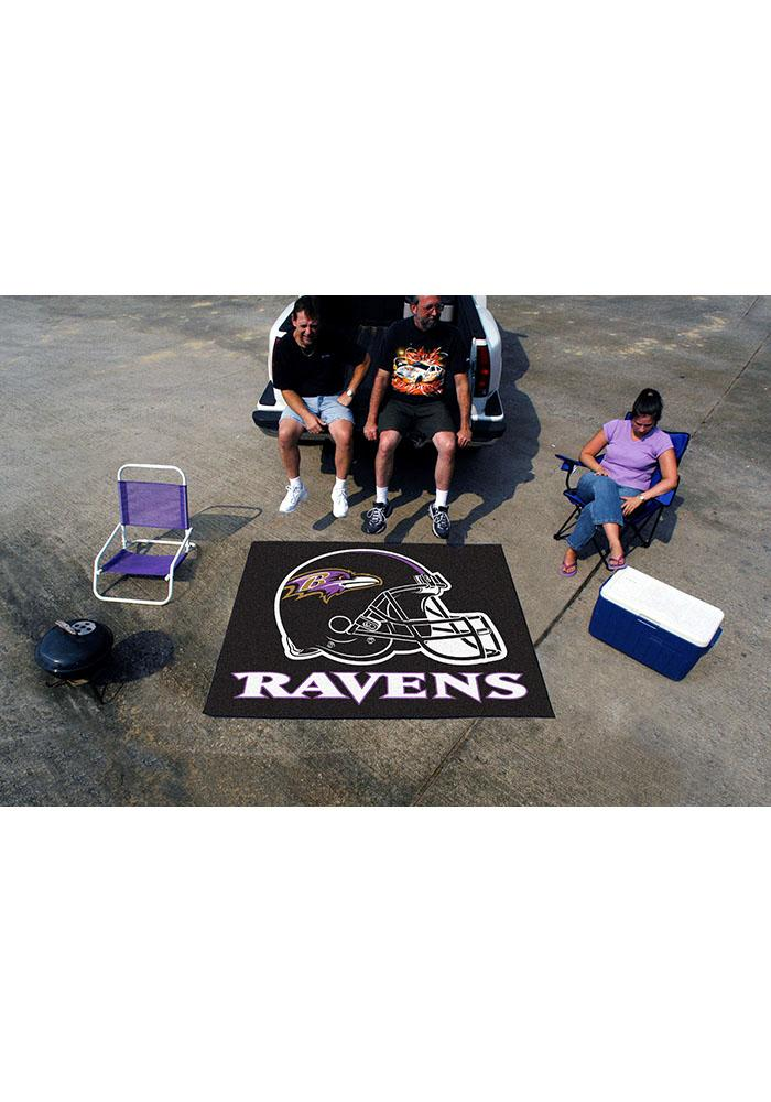 Baltimore Ravens 60x70 Tailgater BBQ Grill Mat - Image 2