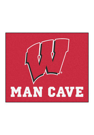 Wisconsin Badgers 60x70 Tailgater BBQ Grill Mat