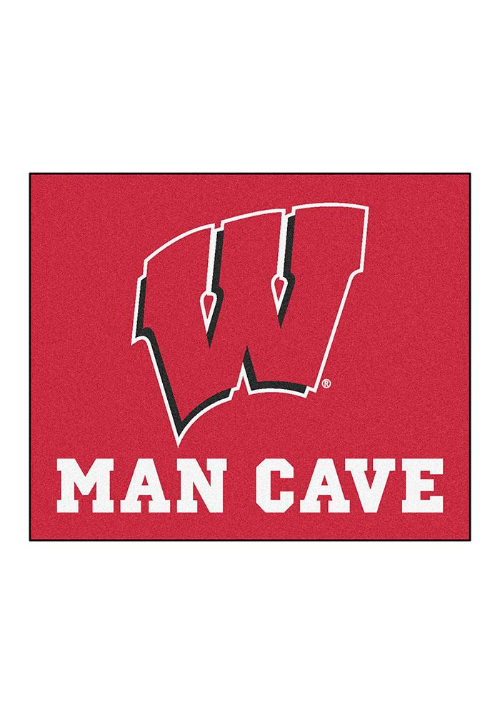 Wisconsin Badgers 60x70 Tailgater BBQ Grill Mat - Image 2