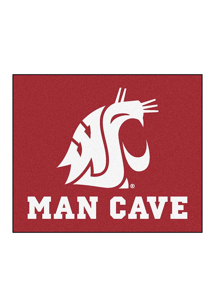 Washington State Cougars 60x70 Tailgater BBQ Grill Mat - Image 2
