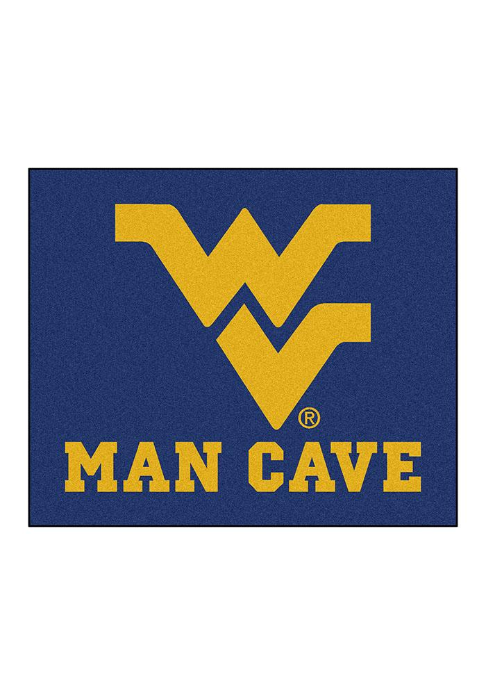 West Virginia Mountaineers 60x70 Tailgater BBQ Grill Mat - Image 2