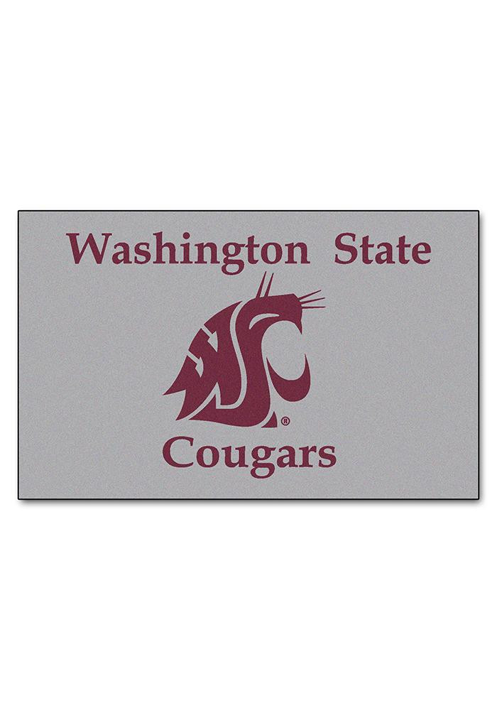 Washington State Cougars 60x96 Ultimat Interior Rug - Image 2