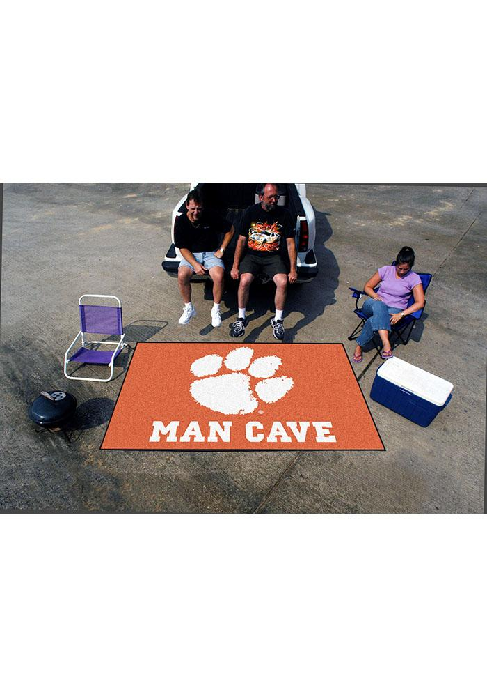 Clemson Tigers 60x96 Ultimat Interior Rug - Image 2