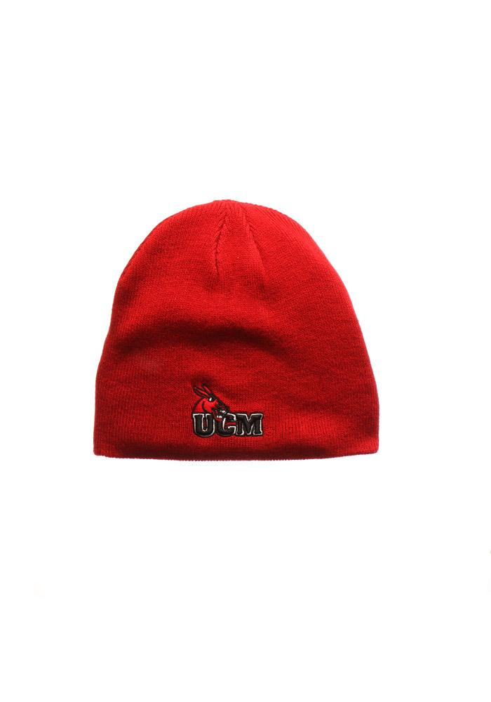Zephyr Central Missouri Mules Red Edge Mens Knit Hat - Image 1