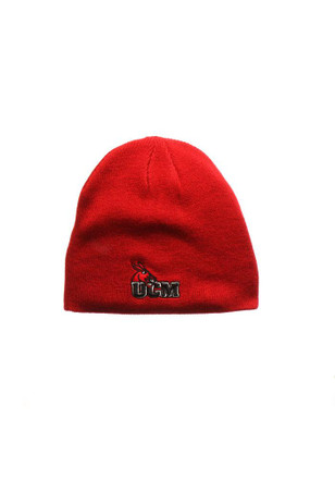 Zephyr Central Missouri Mules Red Edge Knit Hat