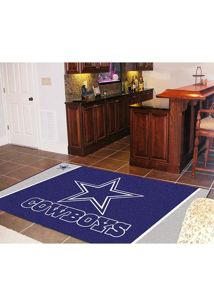 Dallas Cowboys Team Logo Interior Rug - Image 2