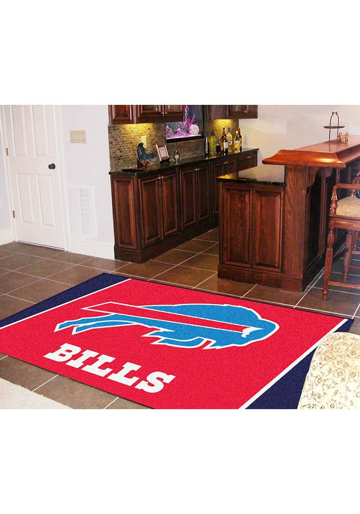 Buffalo Bills Team Logo Interior Rug - Image 2
