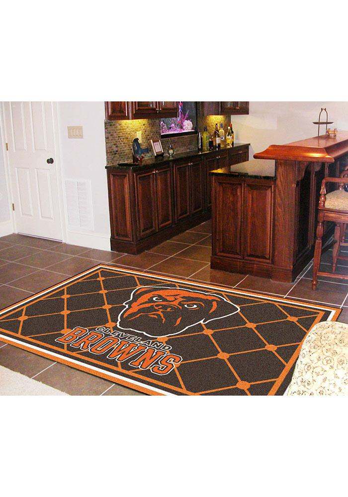 Cleveland Browns 5x8 Interior Rug - Image 1
