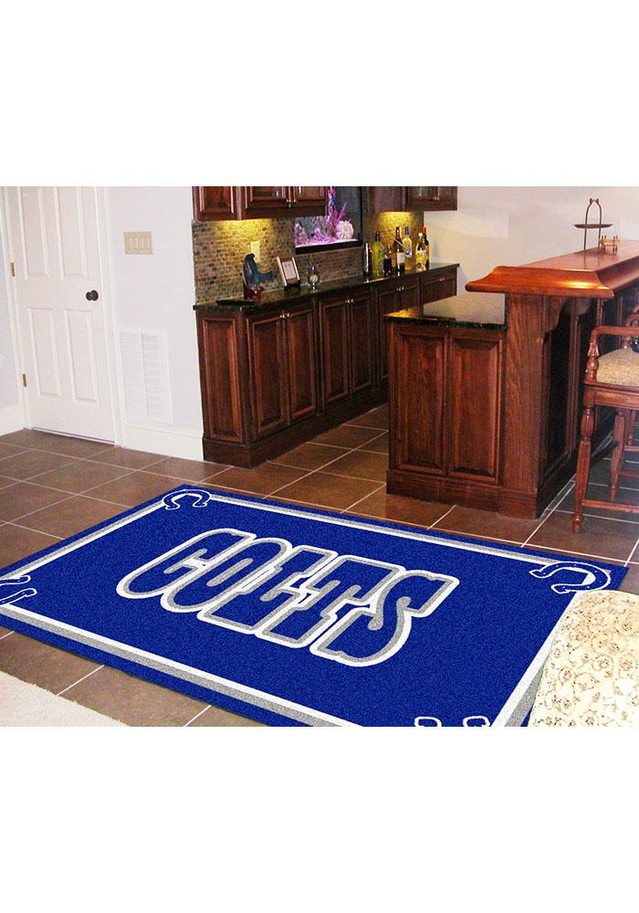 Indianapolis Colts 5x8 Interior Rug - Image 2