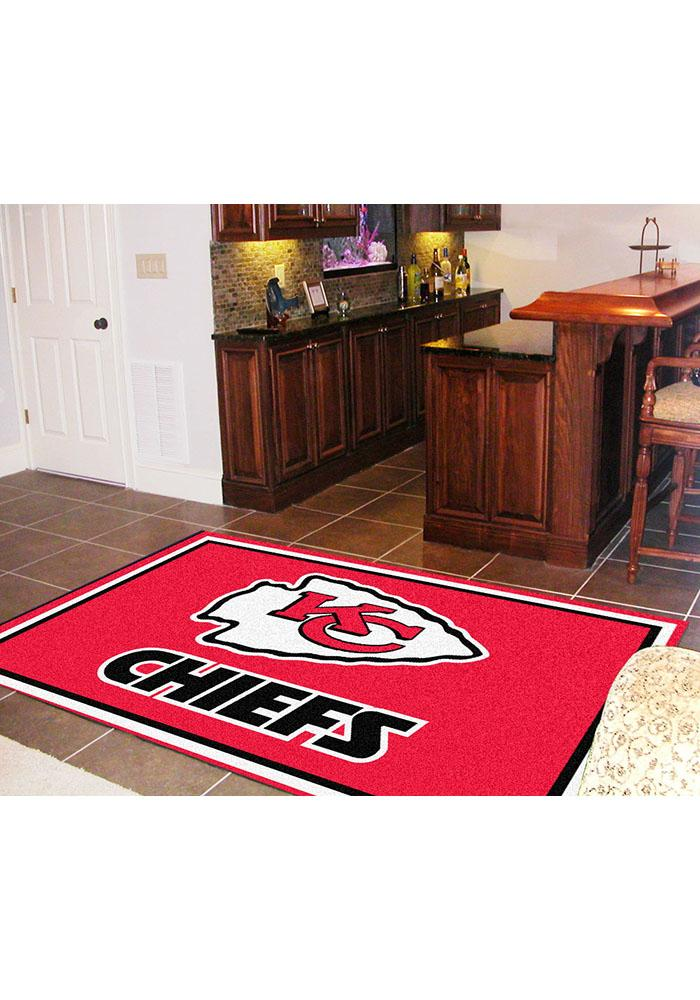 KC Chiefs 5x8 Interior Rug