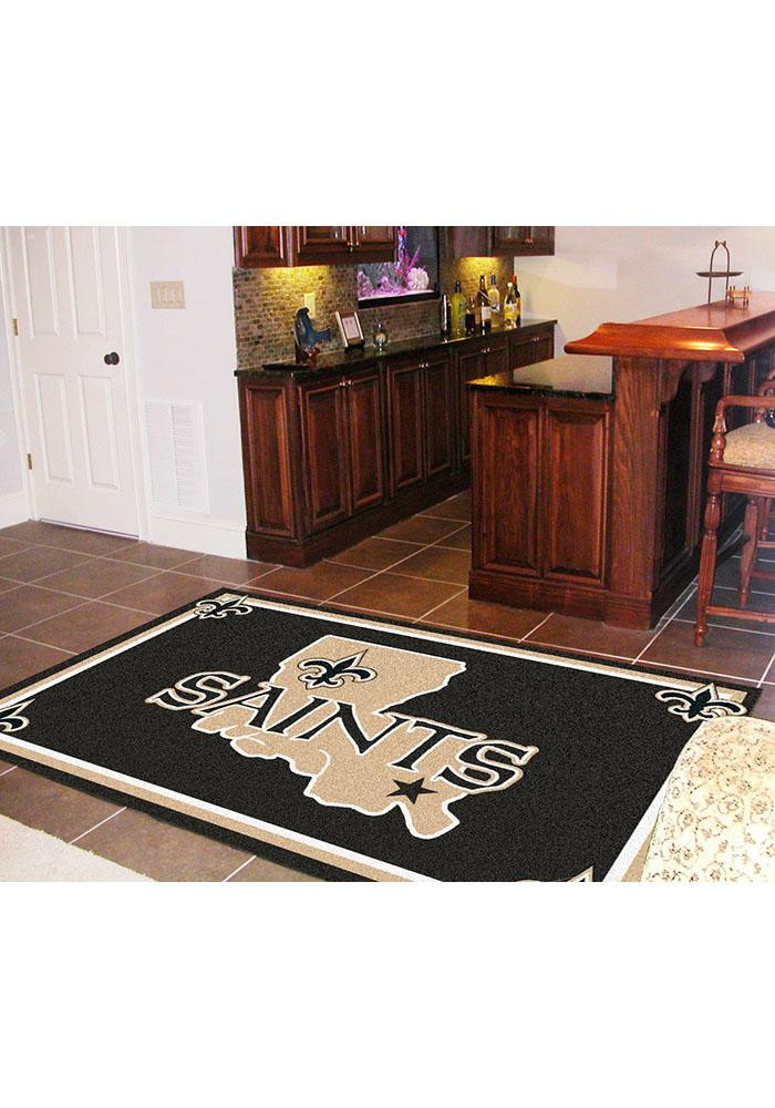 New Orleans Saints 5x8 Interior Rug - Image 2
