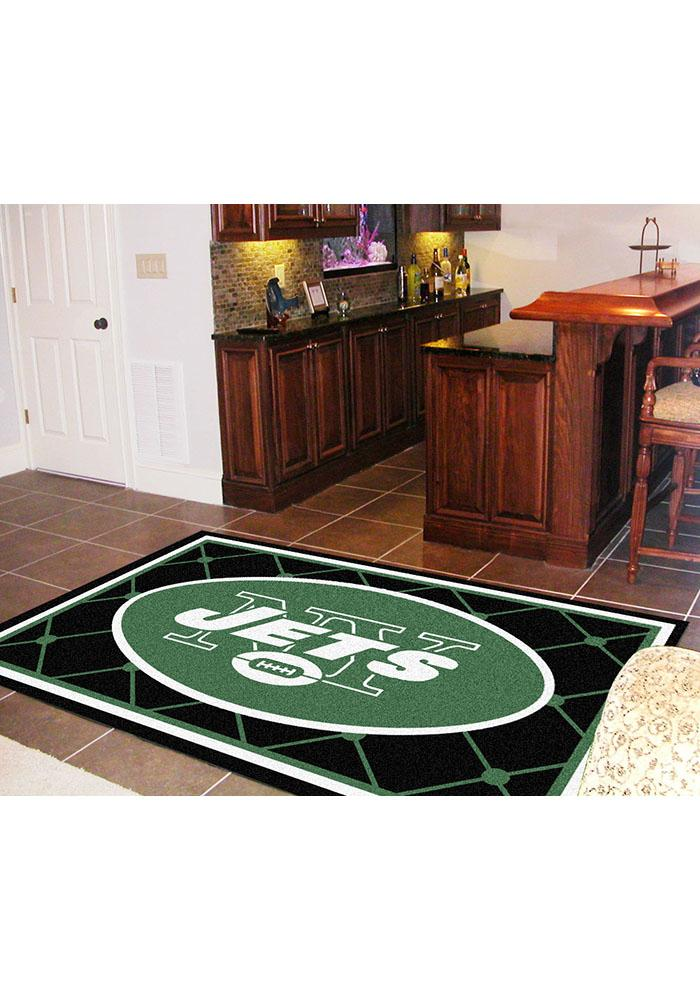 New York Jets 5x8 Interior Rug - Image 1