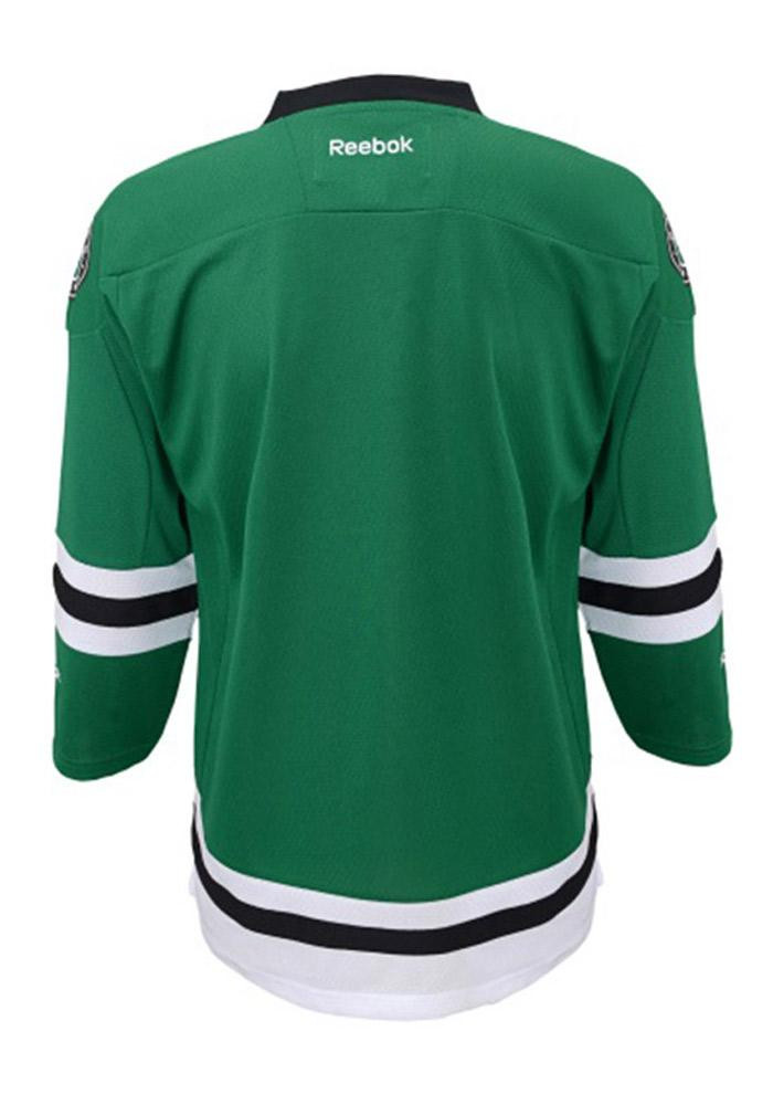 Dallas Stars Kids Green Youth Replica Hockey Jersey - Image 2