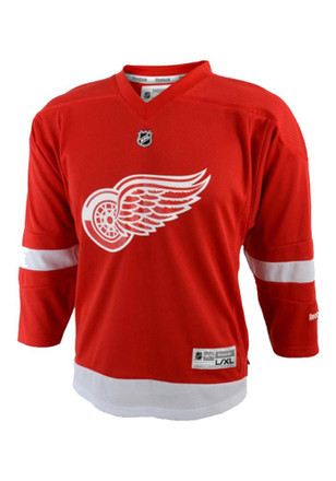 Detroit Red Wings Kids Red Youth Replica Jersey